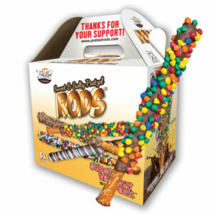 pretzel rod fundraiser box