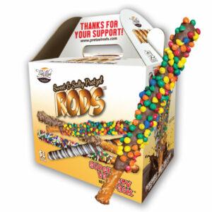 pretzel rod fundraiser box